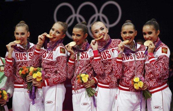 Олимпийская сборная РФ по художественной гимнастике